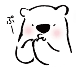 shirokumaza sticker #12887894