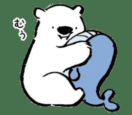 shirokumaza sticker #12887909
