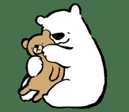 shirokumaza sticker #12887911