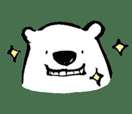 shirokumaza sticker #12887914