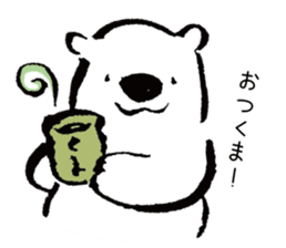 shirokumaza sticker #12887917