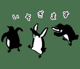 shirokumaza sticker #12887920