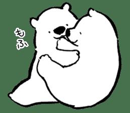 shirokumaza sticker #12887925