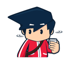 Fanboy Animated sticker #12892532