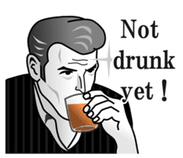 Drinking People (Eng) sticker #12896583