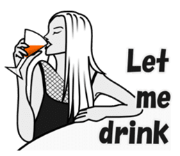 Drinking People (Eng) sticker #12896584