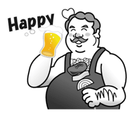 Drinking People (Eng) sticker #12896590