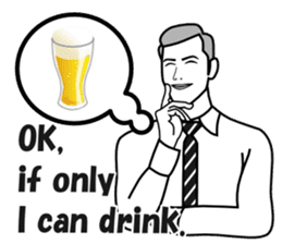 Drinking People (Eng) sticker #12896592