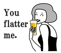 Drinking People (Eng) sticker #12896596