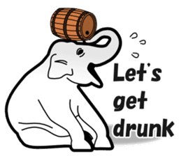Drinking People (Eng) sticker #12896610