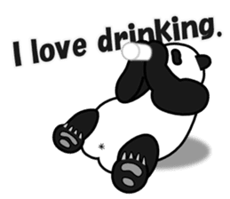 Drinking People (Eng) sticker #12896612