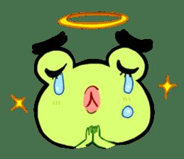 Codec & Sasha Frog 2 sticker #12903226