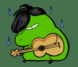 Codec & Sasha Frog 2 sticker #12903240