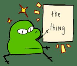 Codec & Sasha Frog 2 sticker #12903253
