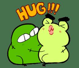 Codec & Sasha Frog 2 sticker #12903259