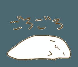 KINONUKERU YURUMOCHI(?) sticker #12908767
