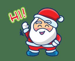 Animated Cute Santa Claus sticker #12909406