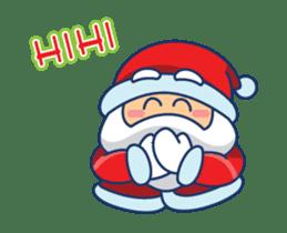 Animated Cute Santa Claus sticker #12909407