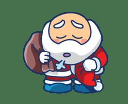Animated Cute Santa Claus sticker #12909417