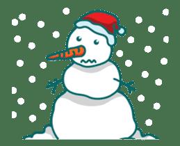 Animated Cute Santa Claus sticker #12909420