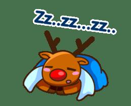 Animated Cute Santa Claus sticker #12909421
