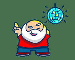 Animated Cute Santa Claus sticker #12909424