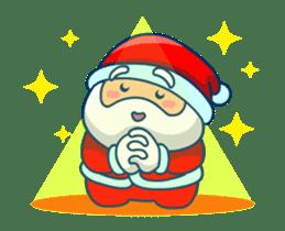 Animated Cute Santa Claus sticker #12909425
