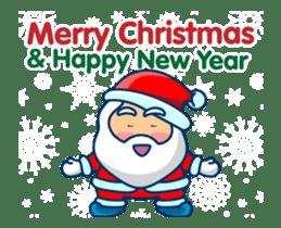 Animated Cute Santa Claus sticker #12909429