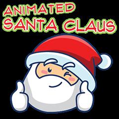 Animated Cute Santa Claus
