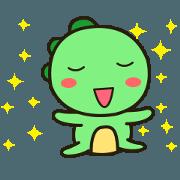 สติ๊กเกอร์ไลน์ Kawaii Dino Animated 2
