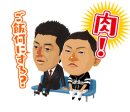 """TVQxHAWKS collaboration"" sticker Vol.2 sticker #12916697"