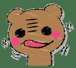 Hard bear sticker #12923968