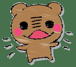 Hard bear sticker #12923974