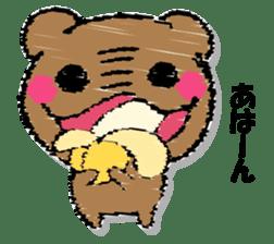 Hard bear sticker #12923987