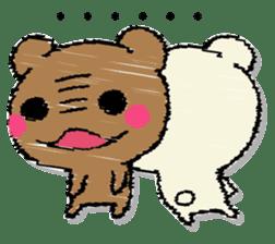 Hard bear sticker #12923991