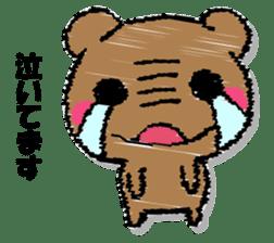Hard bear sticker #12923997