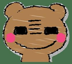 Hard bear sticker #12923998