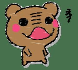 Hard bear sticker #12924000