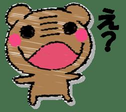Hard bear sticker #12924001
