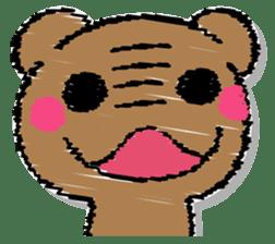 Hard bear sticker #12924005