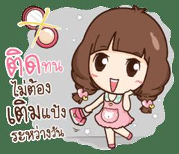 Cute little Merchant beauty shop. sticker #12935634