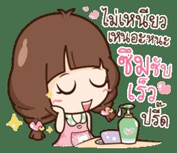 Cute little Merchant beauty shop. sticker #12935635