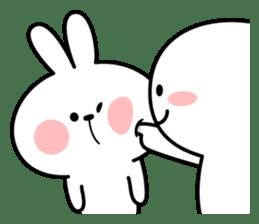 "Rabbit & Smile ""Comic Duo"" sticker #12936567"