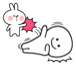"Rabbit & Smile ""Comic Duo"" sticker #12936568"