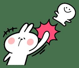 "Rabbit & Smile ""Comic Duo"" sticker #12936570"