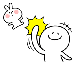 "Rabbit & Smile ""Comic Duo"" sticker #12936571"