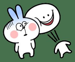 "Rabbit & Smile ""Comic Duo"" sticker #12936573"