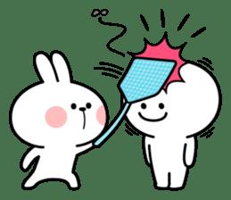 "Rabbit & Smile ""Comic Duo"" sticker #12936580"