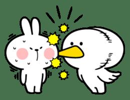 "Rabbit & Smile ""Comic Duo"" sticker #12936581"