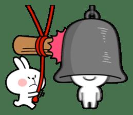 "Rabbit & Smile ""Comic Duo"" sticker #12936582"